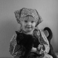 ткачиха и котенок :: Игорь Карась