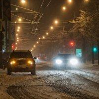 Первый снег в Ижевске :: Владимир Максимов