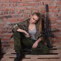девушка-воин :: oksana sivtunova