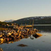 Белые ночи Севера. Норвегия в 2 часа ночи :: Инта