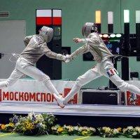 Международный турнир по фехтованию. :: Сергей Ключарёв
