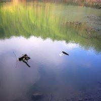 Голубой водоем в Гаспре. Крым :: Руслан Newman