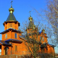 Церковный звон колоколов, и куполов златых сиянье. :: Валентина ツ ღ✿ღ
