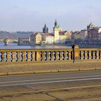 На мосту Легионов в Праге :: Денис Кораблёв