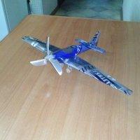 Самолетик из подручных материалов. :: Владимир RD4HX Сёмушкин