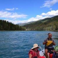 Сплав по реке Катунь на Алтае :: Tengri K.