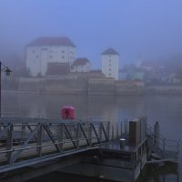 Туманным утром на причале... :: Вальтер Дюк
