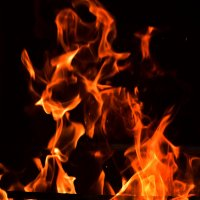 образ в огне :: Александр Кочуркин