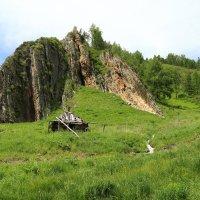 Заброшенный домик в горах :: Александр Толстых