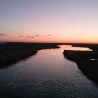 Добрый вечер на реке Чу :: Алла