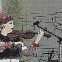 скрипачка :: Юлия Денискина