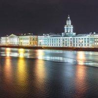 Вечерние отражения Невы :: Александр Кислицын