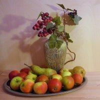 Яблоки и виноградная лоза :: Nina Yudicheva