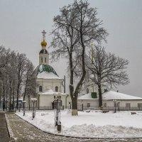 У Спасо-Преображенской церкви :: Сергей Цветков