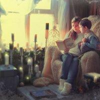 Чтение у окна... :: Ольга Егорова