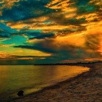 Закат на заливе :: Дмитрий Рутковский