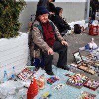 Водочка Журавли не даст замёрзнуть...:) :: Анатолий Колосов