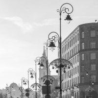 Варшава. Уличные фонари. :: Евгений Поляков