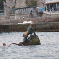 "Упражнение для моржей : ""Ухватить за хвост русалку"" :: Алекс Аро Аро"