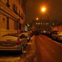 Последний день осени в городе :: Андрей Лукьянов
