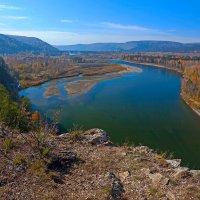 Река с высоты птичьего полёта :: Анатолий Иргл