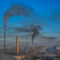 Город в дыму :: Юрий Фёдоров