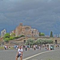 Когда ещё  по  Риму  было  приятно  прогуляться! :: Виталий Селиванов