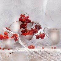 Сегодня падал первый снег... :: Валентина Колова