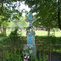 Символический   крест   в   Гошиве :: Андрей  Васильевич Коляскин