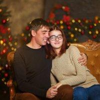 Новогодняя сказка... Любовь отцовская неповторима.... :: Кристина Беляева