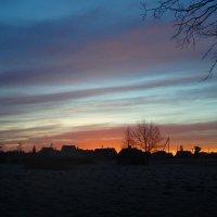 Šaltas saulėtekis / Cold sunrise :: silvestras gaiziunas