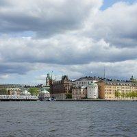Стокгольм. Вид на Риддархольмен (Рыцарский остров) :: Елена Павлова (Смолова)