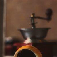 кофейные истории... гадание на кофейной гуще... :: Елена Баландина