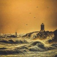 Море волнуется... три !!! :: Александр Бойко