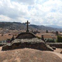 Вид на Куско с крыши Собора Св. Франциска :: чудинова ольга