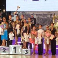 В Днепре проходит международный конкурс бальных танцев: первые победители среди юниоров... :: Алекс Аро Аро