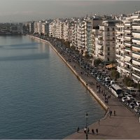 Набережная в г.Салоники, Греция :: Lmark
