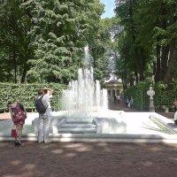 Фонтан в Летнем саду. :: Виктор Егорович