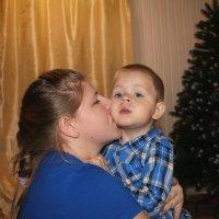 С мамочкой.. :: Екатерина Миллер