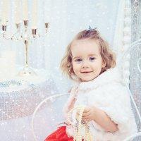 Новогодняя фотосъемка Машеньки :: марина алексеева