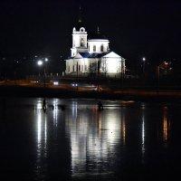 ночь. лед.рыбаки. :: petyxov петухов