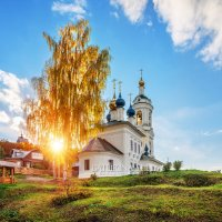 Варваринская церковь в Плёсе :: Юлия Батурина