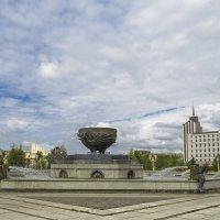 Казань,площадь тысячелетия :: Сергей Цветков
