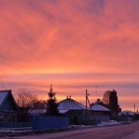 Декабрьский рассвет :: Геннадий Ячменев