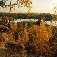 Осень на карьере :: Ида Слизких