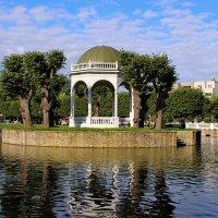 Пейзаж у лебединого пруда.. :: Татьяна Ивановна