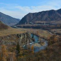 Долина реки Урсул. :: Валерий Медведев