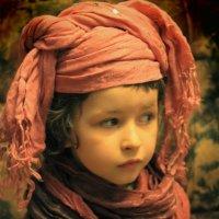 Посланник  пустыни. :: Eva Tisse
