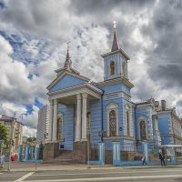Католический храм Воздвижения Святого Креста :: Сергей Цветков