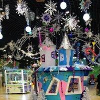 Новогоднее оформление в парке аттракционов  Happylon :: Алла ZALLA